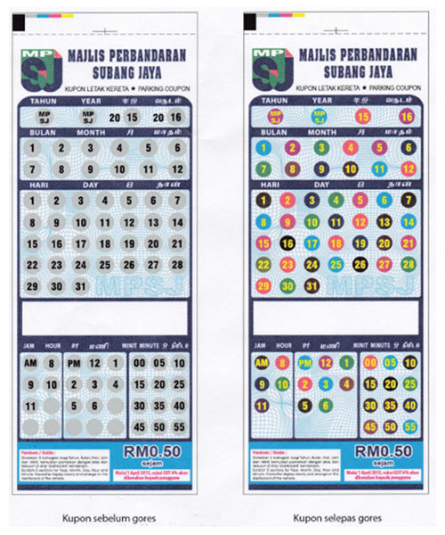 where to buy parking coupon in klang